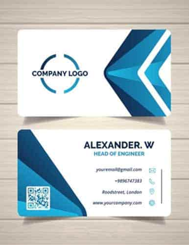 customized business card