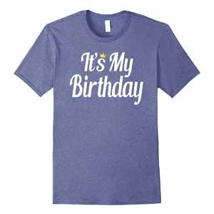 birthday t shirt with quotes