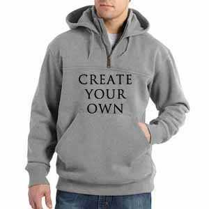 corporate hoodies with text and logo