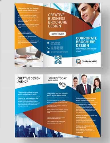 corporate leaflet flyers
