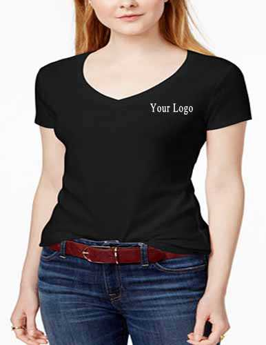 corporate v neck t shirts