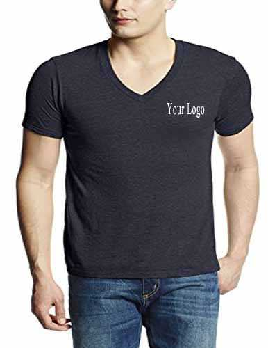 Printed V Neck T-shirts