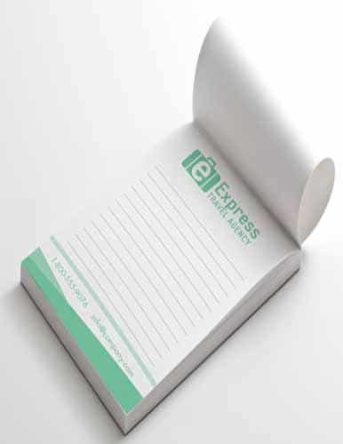notepads printing services